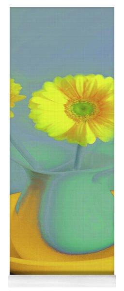 Abstract Floral Art 306 Yoga Mat