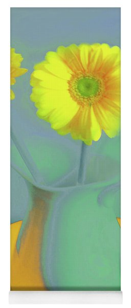 Abstract Floral Art 307 Yoga Mat