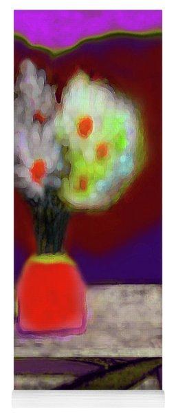 Abstract Floral Art 339 Yoga Mat