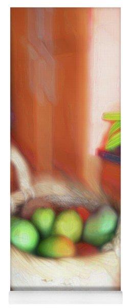 Abstract Fruit Art   101 Yoga Mat