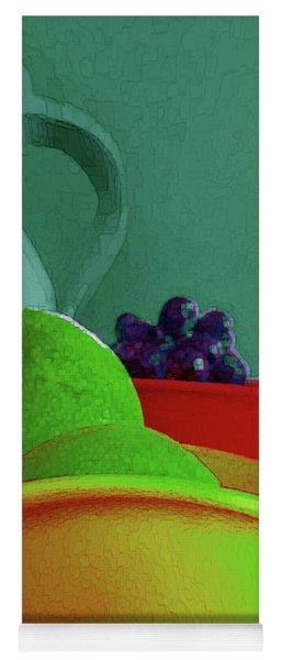 Abstract Fruit Art 85 Yoga Mat