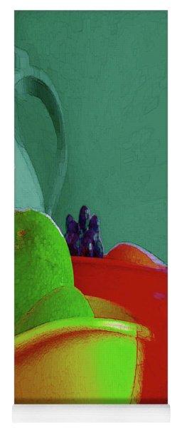 Abstract Fruit Art 88 Yoga Mat