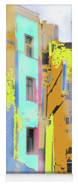 Abstract  Images Of Urban Landscape Series #2 Yoga Mat