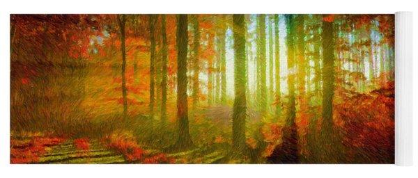 Abstract Landscape 0745 Yoga Mat