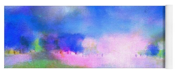 Abstract Landscape 6 Yoga Mat