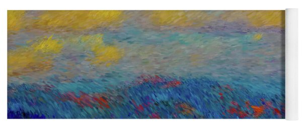 Abstract Landscape Expressions Yoga Mat