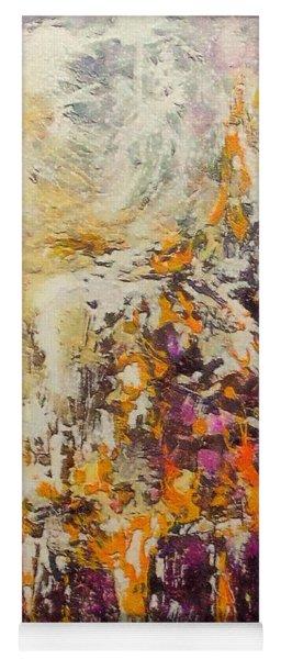 abstract landscape VI Yoga Mat