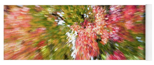 Abstract Leaves 5 Yoga Mat