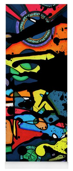 Abstract Man  Yoga Mat