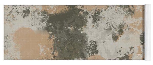 Abstract Mud Puddle Yoga Mat