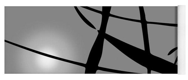 Abstract Reflection Yoga Mat