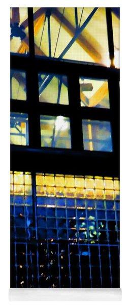Abstract Reflections Digital Art #5 Yoga Mat