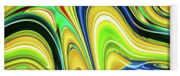 Abstract Series 153240 Yoga Mat