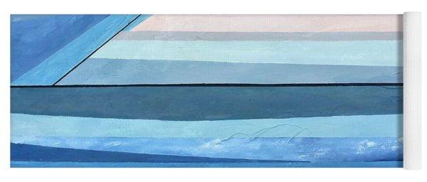 Abstract Swimming Pool Yoga Mat