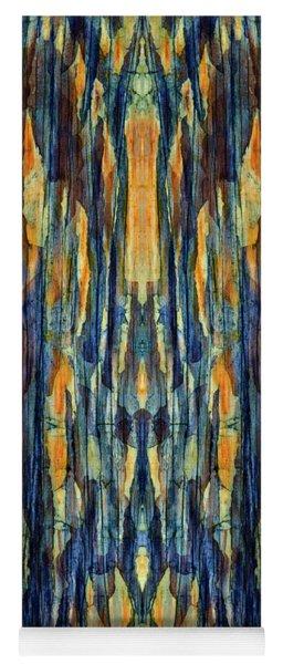 Abstract Symmetry I Yoga Mat
