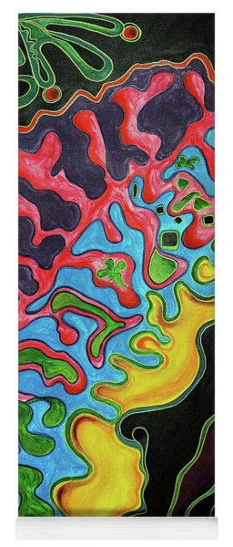 Abstract Thought Yoga Mat