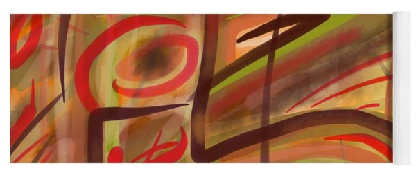Abstraction Collect 2 Yoga Mat