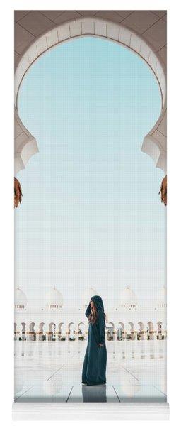 Abu Dhabi Mosque Yoga Mat