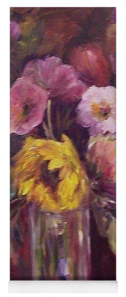 Abundance- Floral Painting Yoga Mat