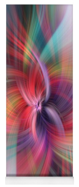 Abundance. Multicolored Abstract Yoga Mat