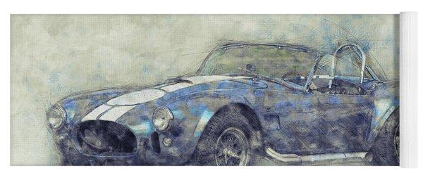 Ac Cobra - Shelby Cobra - 1962s - Automotive Art - Car Posters Yoga Mat
