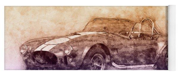 Ac Cobra - Shelby Cobra 2 - 1962s - Automotive Art - Car Posters Yoga Mat