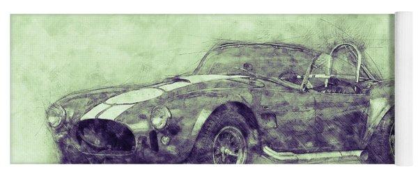 Ac Cobra - Shelby Cobra 3 - 1962s - Automotive Art - Car Posters Yoga Mat