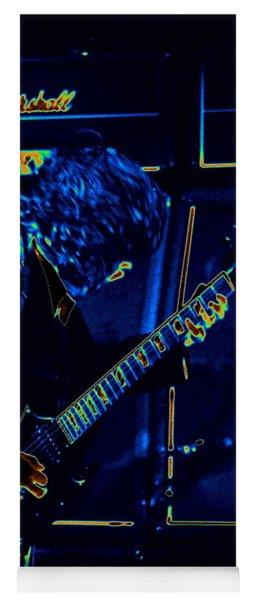 Ac Dc Electrifies The Blues Yoga Mat