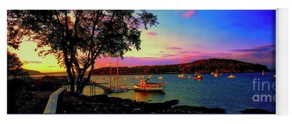 Acadia Bar Harbor Sunset Cruises.tif Yoga Mat