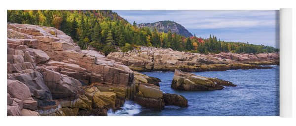 Acadia's Coast Yoga Mat