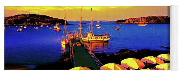 Acaida  Bar Harbor  Pier Yoga Mat