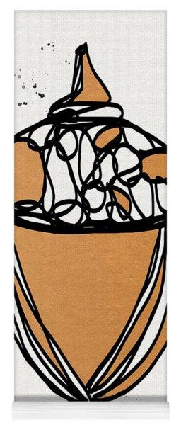 Acorn- Art By Linda Woods Yoga Mat