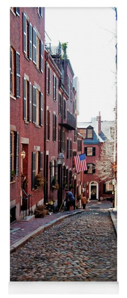 Acorn Street Beacon Hill Yoga Mat