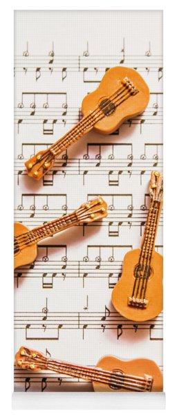 Acoustic Quartet Yoga Mat