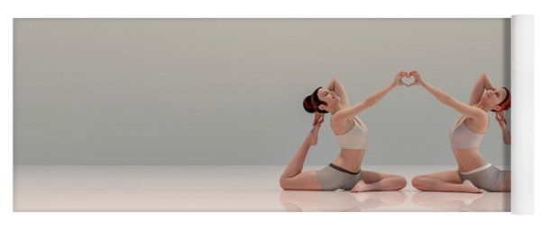 Acro Yoga Two Yoga Mat