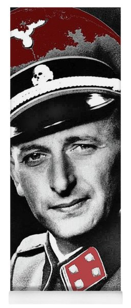 Adolf Eichmann 1942 Color Added 2016 Yoga Mat