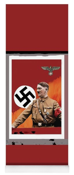 Adolf Hitler In Color With Nazi Symbols Unknown Date Additional Color Added 2016 Yoga Mat