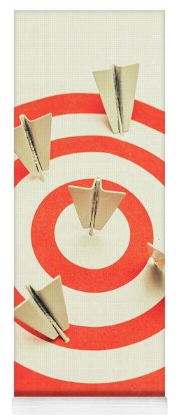 Aeroplane Target Pin Board Yoga Mat
