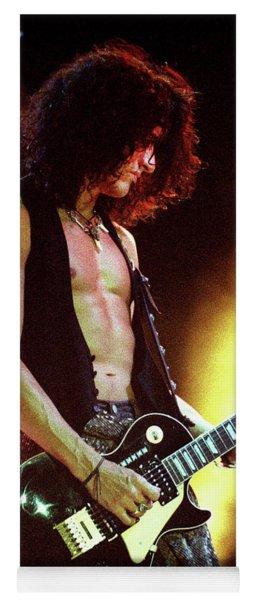 Aerosmith-94-joe-dreamon Yoga Mat