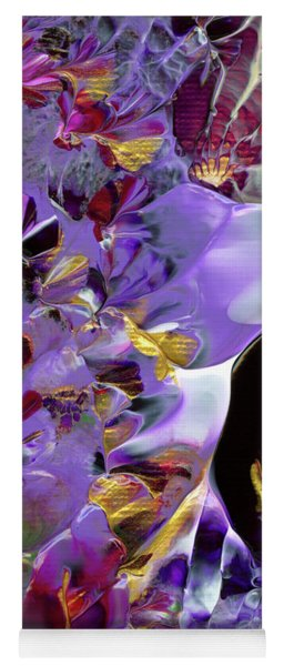 African Violet Awake #2 Yoga Mat