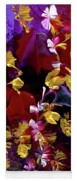 African Violet Awake #3 Yoga Mat