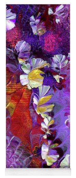 African Violet Awake #5 Yoga Mat