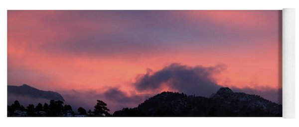 After Sunset - Panorama Yoga Mat