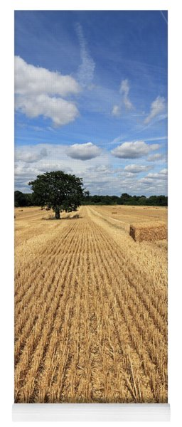 After The Harvest England Yoga Mat