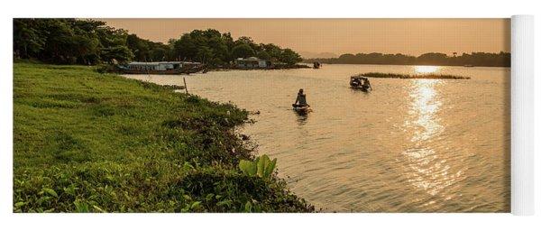 Afternoon Huong River #2 Yoga Mat