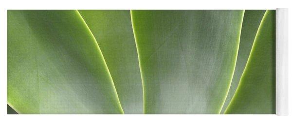 Agave Leaves Yoga Mat