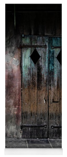 Aged And Erie Door Yoga Mat
