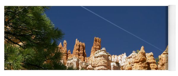 Airplane Over Bryce Canyon Yoga Mat