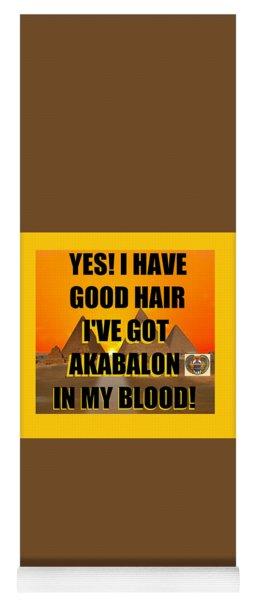 Akabalon Hair Yoga Mat