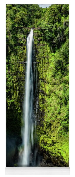 Akaka Falls With Rainbow Yoga Mat